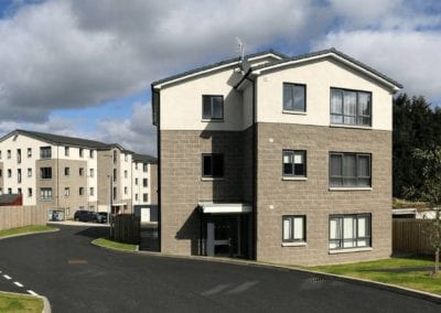 Photo of affordable housing in Scotland, Mugiemoss Road, Aberdeen