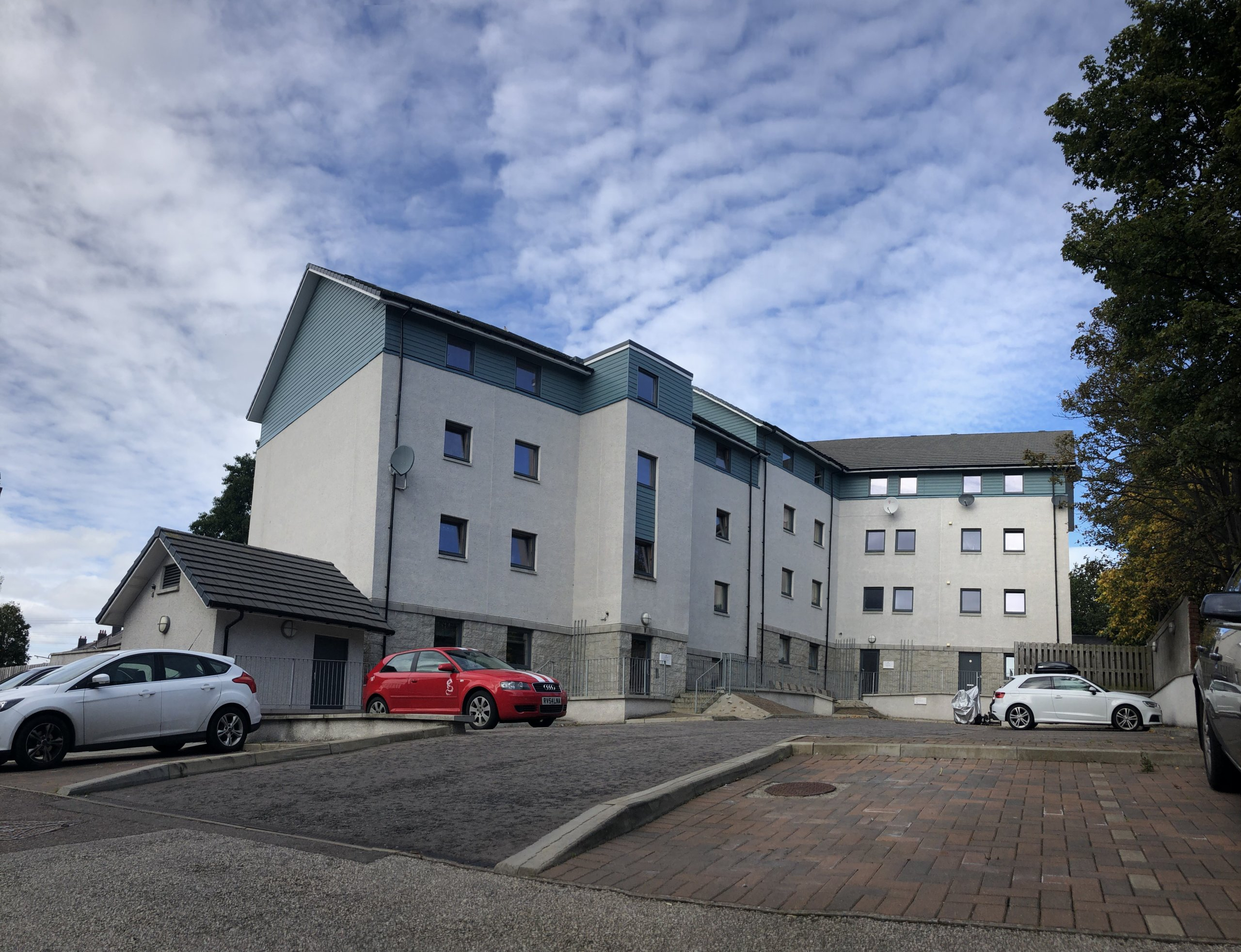 Photo of affordable housing in Scotland, Old Chruch Road, Aberdeen