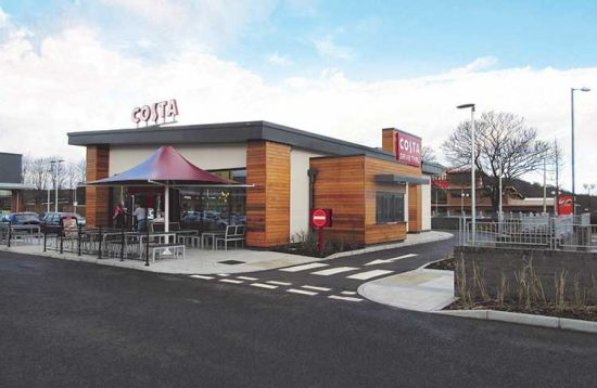 Costa Coffee outlet complete