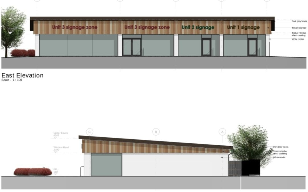 Retail units head for site start in Inverness
